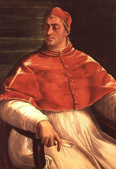 Half Length Portrait of Pope Clement VII Sebastiano del Piombo