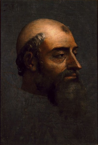 Portrait of Pope Clement VII with Beard Sebastiano del Piombo