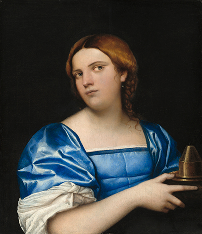 Portrait of a Young Woman as a Wise Virgin Sebastiano del Piombo